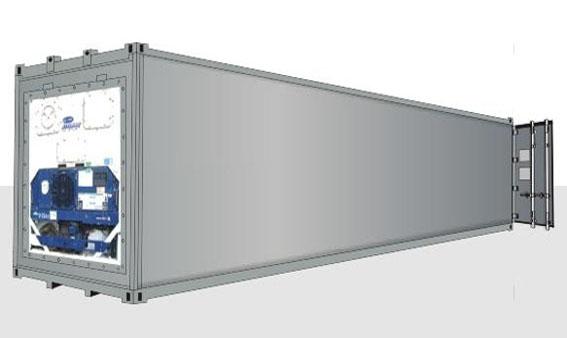 40-футовый рефрижераторный контейнер